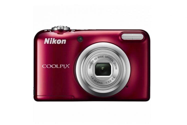 Camera foto digitala NIKON Coolpix A10, 16.1Mp, 5x, 2.7 inch, Red