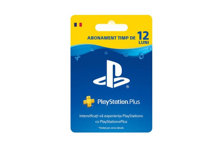 Abonament PlayStation Plus 12 luni (365 zile) RO PS4