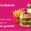 foodpanda - livrare gratuită la McDonald's