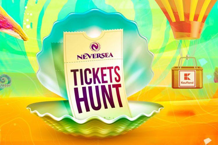 Neversea Tickets Hunt by Kaufland