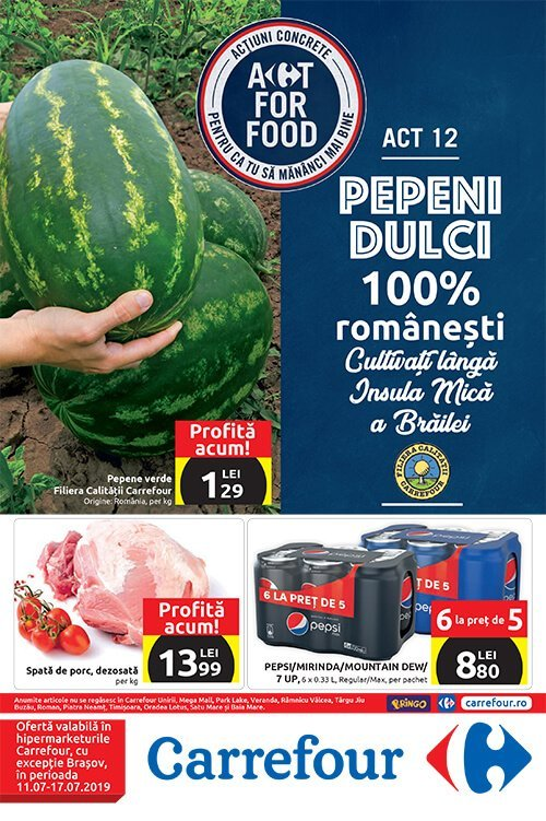 Catalog Carrefour hypermarket 11 07 2019 - 17 07-2019 - Ai vazut ce
