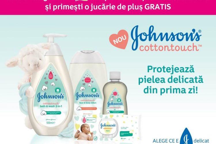 Jucarie de plus CADOU la 2 produse Johnson's cumparate