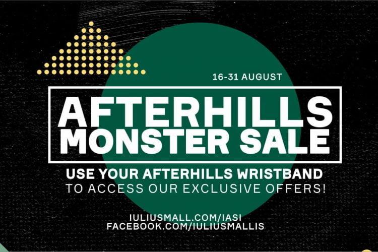 Monster Sale cu bratara AFTERHILLS la Iulius Mall Iasi