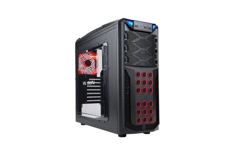 Carcasa In Win GT1 Black, 2 x USB 2.0, 1 x USB 3.0, IW-GT1-BK