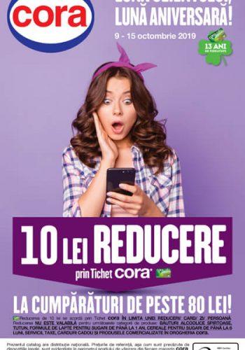 Catalog Cora 9 - 15 octombrie 2019 - Constanta, Drobeta, Bacau, Ploiesti