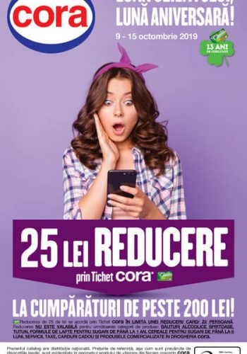 Catalog Cora 9 - 15 octombrie 2019 - Bucuresti, Cluj