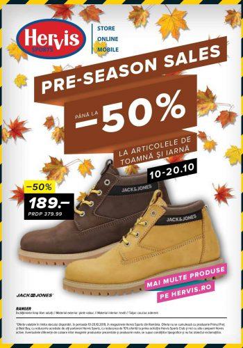 Catalog Hervis 10-20 octombrie Pre-season sales!