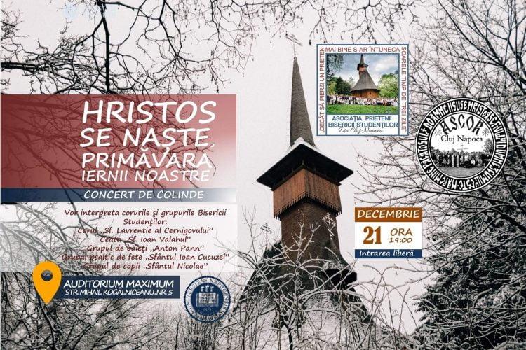 Hristos se naste - Primavara iernii noastre - concert de colinde - Cluj-Napoca, 21 decembrie 2019