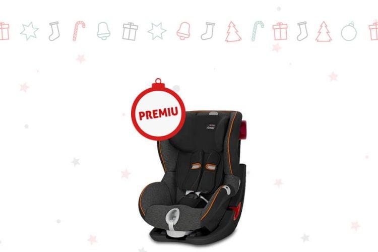 evoMAG - Sarbatori in siguranta cu scaunul Britax - Castiga un scaun auto Britax KING II LS Black Series Black Marble!