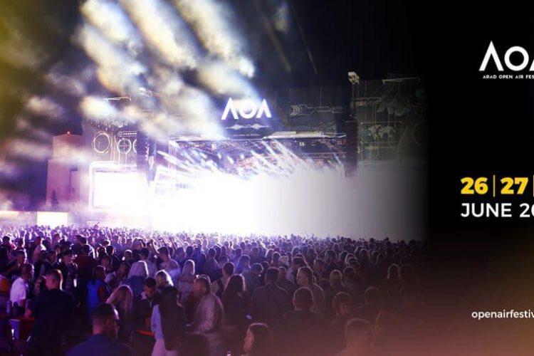 Arad Open Air Festival, 26-28 iunie 2020