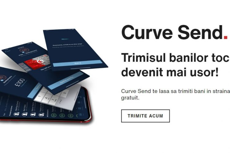 Curve Send - trimite bani in strainatate, rapid si gratuit