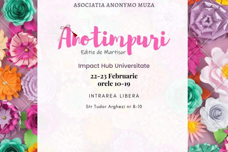 Anotimpuri - eveniment de shopping - targ de produse handmade - Bucuresti, 22-23 februarie 2020