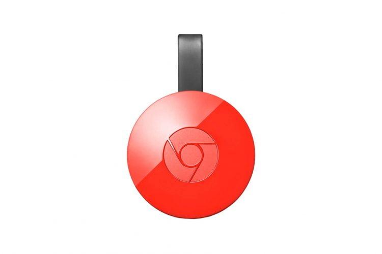 GOOGLE Chromecast 2.0 HDMI Streaming Media Player Rosu