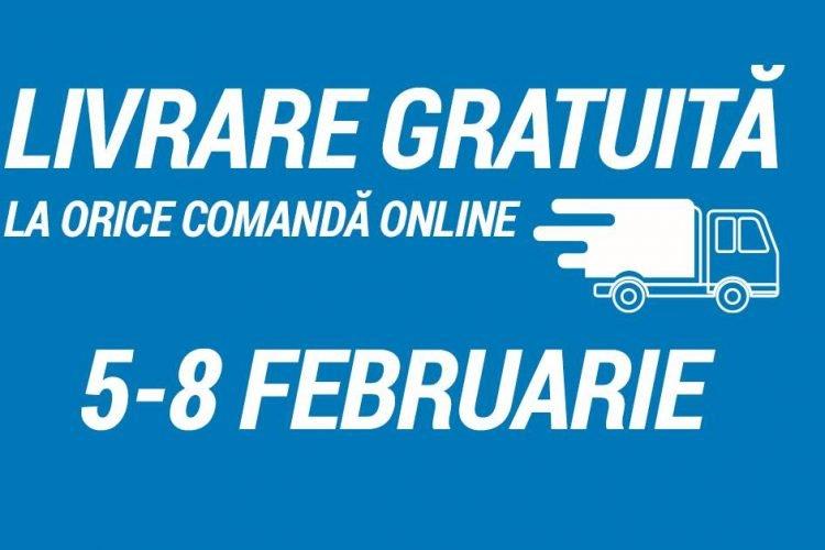 Promotie Decathlon - Livrare gratuita la orice comanda online pana pe 8 februarie