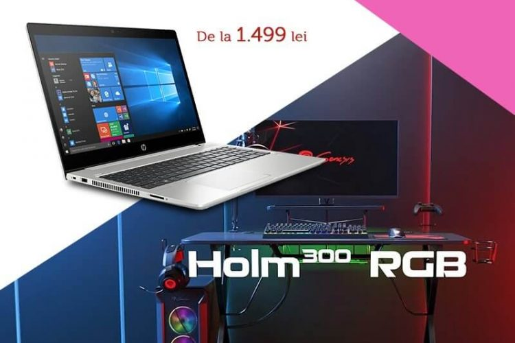 evoMAG - Laptopurile HP iti pot aduce un birou Genesis!