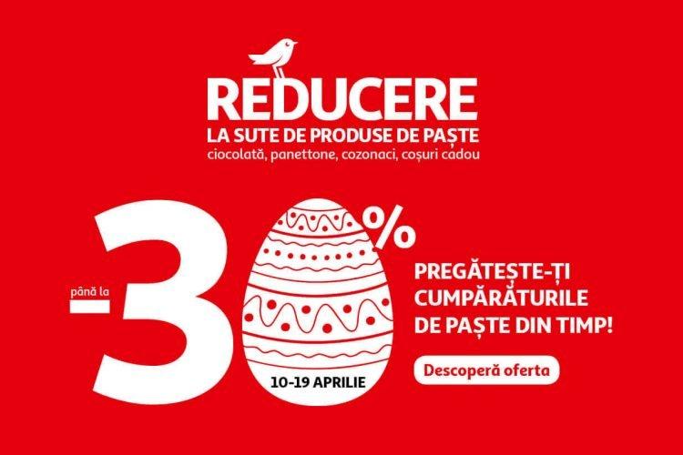 Auchan - pana la 30% reducere la sute de produse de Paste
