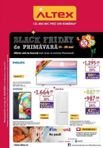 Catalog Altex Black Friday de Primavara 14 mai - 20 mai 2020