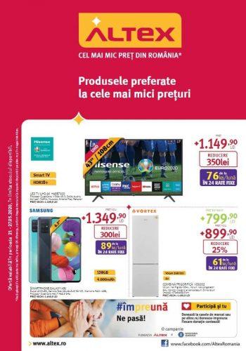 Catalog Altex - Produsele preferate la cele mai mici preturi 21 mai - 27 mai 2020