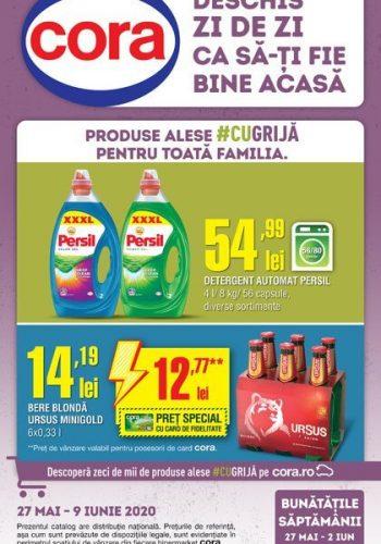 Catalog Cora 27 mai - 9 iunie 2020 - Catalog alimentar Bucuresti, Cluj