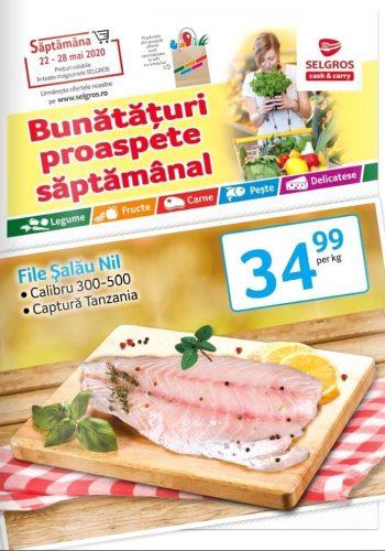 Catalog Selgros 22 mai - 28 mai 2020 - Bunataturi proaspete saptamanal (promovare exclusiv online)