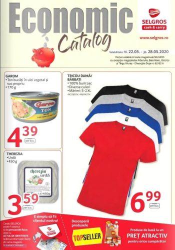 Catalog Selgros 22 mai - 28 mai 2020 - Catalog Economic (promovare exclusiv online)