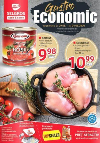 Catalog Selgros 29 mai - 4 iunie 2020 - Catalog Gastro Economic nr.23 (promovare exclusiv online)