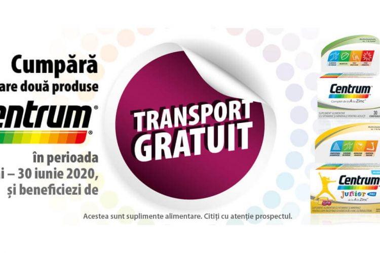 Farmacia Tei - Transport gratuit la oricare 2 produse Centrum