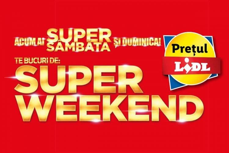 Super Sambata Lidl devine Super Weekend - Promotii Super Sambata si Duminica la Lidl