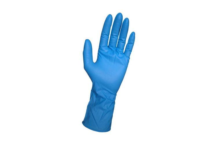 Manusi de protectie, de unica folosinta, nitril, 3.5G Missena, Albastru, 200 Buc.