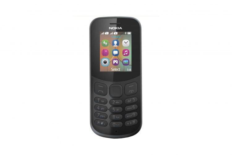 Telefon mobil Nokia 130 (2017), Dual SIM, Black + CADOU: Acumulator extern A+, 20.000 mAh Quick Charge 3.0