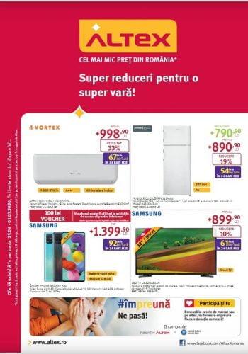 Catalog Altex 25 iunie - 1 iulie 2020 Super reduceri pentru o super vara