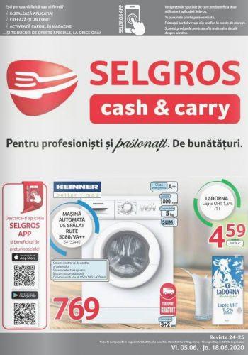 Catalog Selgros 5-18 iunie 2020 - Magazine Mici (Alba Iulia, Bistrita, Tg. Mures, Baia Mare) nr. 24-25