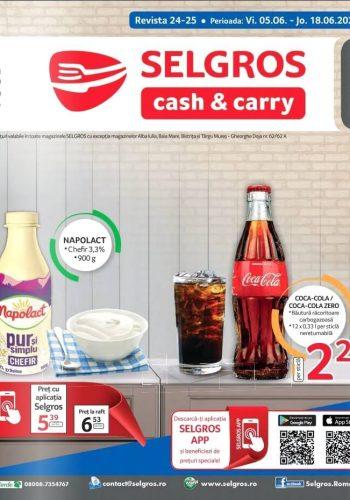 Catalog Selgros 5-18 iunie 2020 - Revista Food nr. 24-25