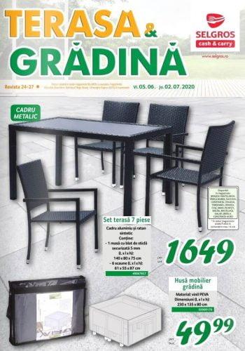 Catalog Selgros 5 iunie - 2 iulie 2020 - Terasa si gradina nr. 24-27 (promovare exclusiv online)