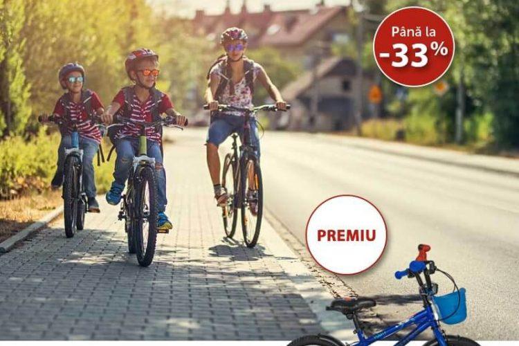 evoMAG - Castiga 1 x Bicicleta pentru copii VELORS V1201A!