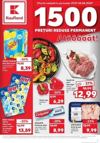 Catalog Kaufland 29 iulie - 4 august 2020