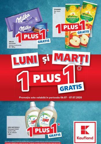 Catalog Kaufland Ofertele de luni si marti - 1+1 gratis - Luni si marti economisesti in plus 6 iulie - 7 iulie 2020