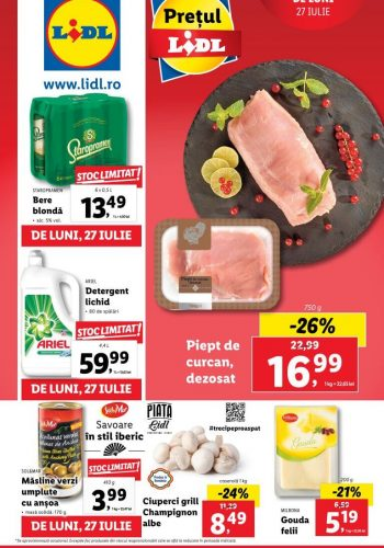 Catalog Lidl 27 iulie - 2 august 2020