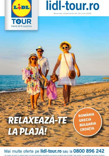 Catalog Lidl Tour - Revista iulie 2020 Lidl Tour