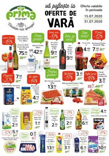 Catalog Prima Market 15 iulie - 31 iulie Revista nr. 188