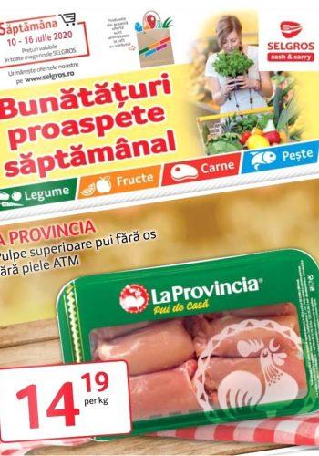 Catalog Selgros 10 iulie - 16 iulie 2020 - Bunataturi proaspete saptamanal nr. 29 (promovare exclusiv online)