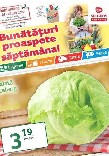 Catalog Selgros 3 iulie - 9 iulie 2020 - Bunataturi proaspete saptamanal nr. 28 (promovare exclusiv online)