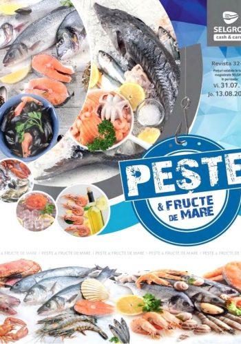 Catalog Selgros 31 iulie - 13 august 2020 - Catalog Peste & fructe de mare nr.32-33