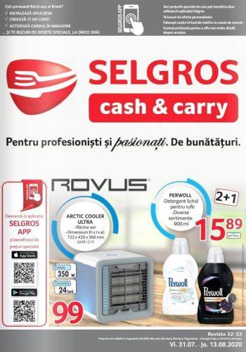 Catalog Selgros 31 iulie - 13 august 2020 - Magazine Mici (Alba Iulia, Bistrita, Tg. Mures, Baia Mare) nr. 32-33