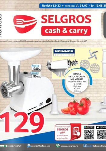Catalog Selgros 31 iulie - 13 august 2020 - Revista Non-Food nr. 32-33