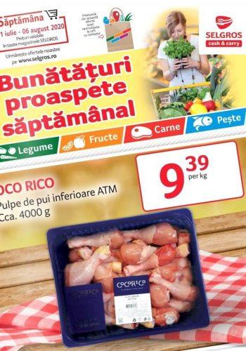 Catalog Selgros 31 iulie - 6 august 2020 - Bunataturi proaspete saptamanal nr. 32 (promovare exclusiv online)