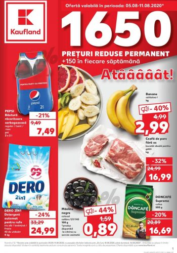 Catalog Kaufland 5 august - 11 august 2020