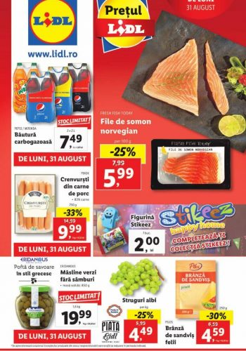 Catalog Lidl 31 august - 6 septembrie 2020