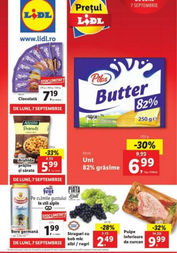 Catalog Lidl 7 septembrie - 13 septembrie 2020