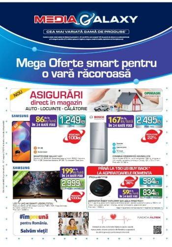 Catalog Media Galaxy 6 august - 12 august 2020 Mega Oferte smart pentru o vara racoroasa